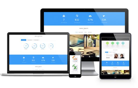 Social Connect - Responsive Website Development